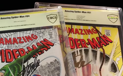 comic book grading certification cbcs comics